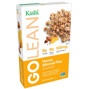 Kashi GoLean Crunch! Honey Almond Flax Cereal (397g)