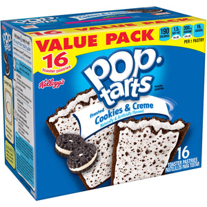 Kellogg's Pop-Tarts Frosted Cookies & Creme (851g)