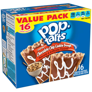 Kellogg's Pop-Tarts Chocolate Chip Cookie Dough (851g)
