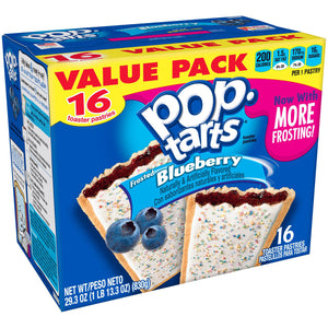 Kellogg's Pop-Tarts Frosted Blueberry (851g)