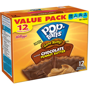 Kellogg's Pop-Tarts Frosted Chocolate Peanut Butter (598g)