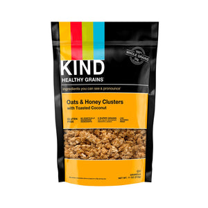 Kind Oats and Honey Clusters with Toasted Coconut (312g)