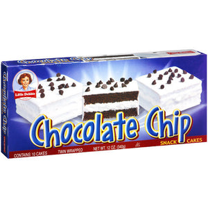 Little Debbie Chocolate Chip Snack Cakes (351g)