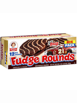 Little Debbie Individually Wrapped Fudge Rounds (804g)