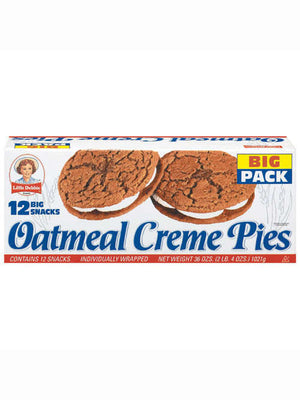 Little Debbie Oatmeal Creme Pies  (459g)