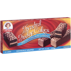 Little Debbie Snacks Frosted Fudge Cakes (340g)