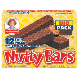Little Debbie Nutty Bars (680g)