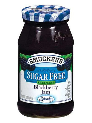 Smucker's Sugar Free Blackberry Seedless Jam (361g)