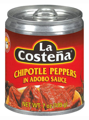 La Costena In Adobo Sauce Chipotle Peppers (198g)