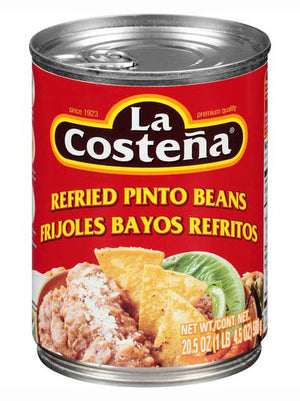 La Costena Refried Pinto Beans (581g)