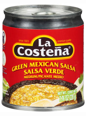 La Costena Green Medium Mexican Salsa (198g)