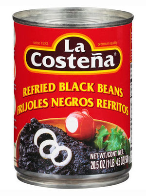 La Costena Refried Black Beans (581g)