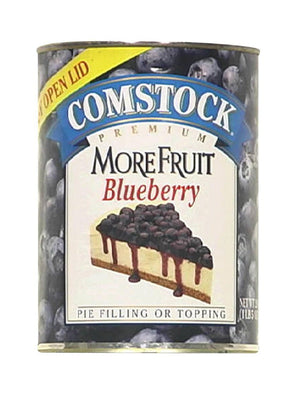 Duncan Hines Comstock More Fruit Blueberry Pie Filling (595g)