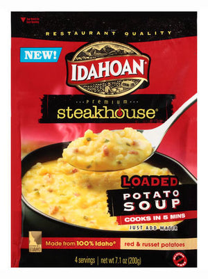 Idahoan Steakhouse Loaded Potato Soup Mix (201g)