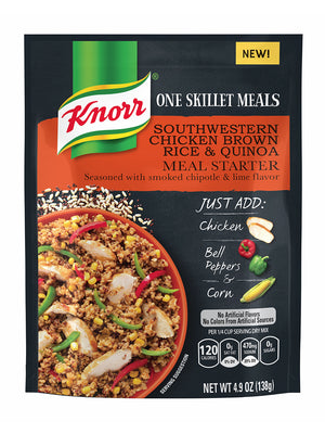 Knorr Skillet Meals Southwestern Chicken Brown Rice & Quinoa (139g)