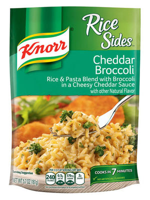 Knorr Rice Sides Cheddar Broccoli (162g)