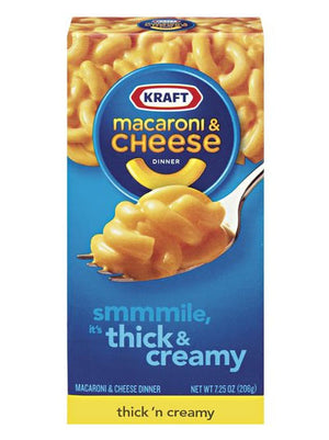 Kraft Premium Thick 'N Creamy Macaroni & Cheese (206g)