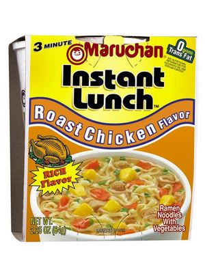 Maruchan Roast Chicken Flavor Instant Lunch (64g)