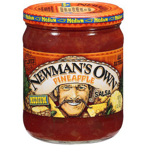 Newman's Own Pineapple Medium Salsa (454g)