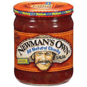 Newman's Own All Natural Chunky Medium Salsa (454g)