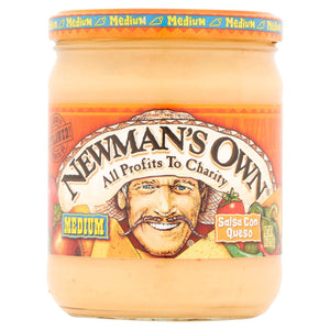 Newman's Own Con Queso Salsa (454g)