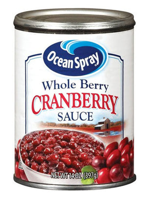 Ocean Spray Whole Berry Cranberry Sauce (397g)