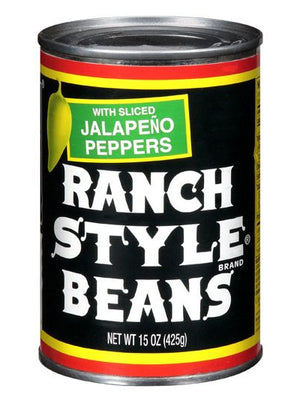 Ranch Style Beans with Jalapeno Peppers (425g)