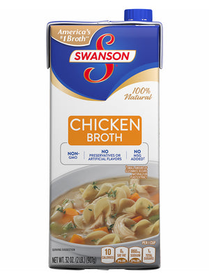 Swanson Chicken Broth (907g)
