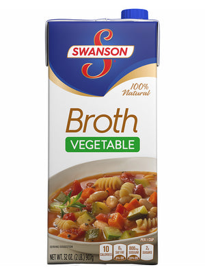 Swanson Vegetable Broth (907g)