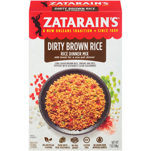 Zatarain's New Orleans Style Dirty Brown Rice Mix (198g)