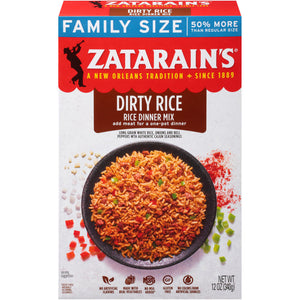 Zatarain's New Orleans Style Dirty Rice Mix (340g)