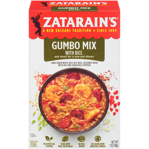 Zatarain's New Orleans Style Gumbo Mix With Rice (198g)