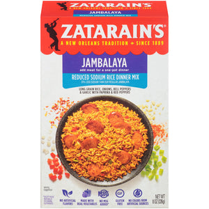 Zatarain's Reduced Sodium New Orleans Style Jambalaya Mix (227g)