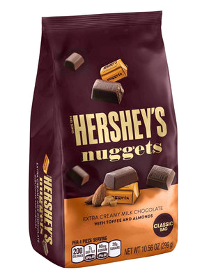Hershey's Nuggets Milk Chocolate Toffee and Almonds (299g)