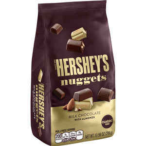 Hershey's Nuggets Milk Chocolate with Almonds (299g)