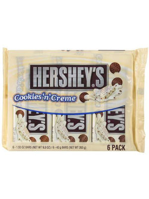 Hershey's Milk Chocolate Bars Cookies N Creme (264g)