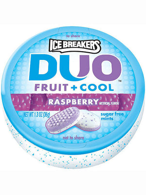 Ice Breakers Duo Fruit + Cool Raspberry Sugar Free Mints (37g)