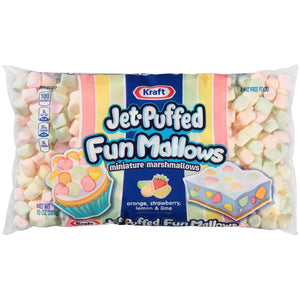 Kraft Jet Puffed FunMallows Marshmallows (284g)