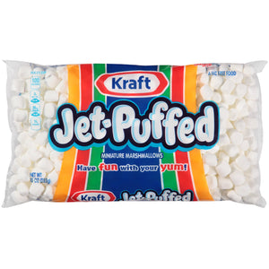 Kraft Jet-Puffed Miniature Marshmallows (284g)