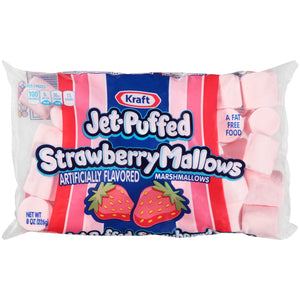 Kraft Jet-Puffed Strawberry Marshmallows (227g)