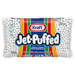 Kraft Jet Puffed Miniature Marshmallows (454g)