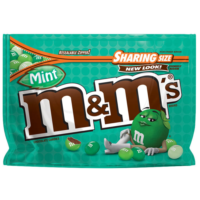 M&M's Mint Chocolate Candies (281g)