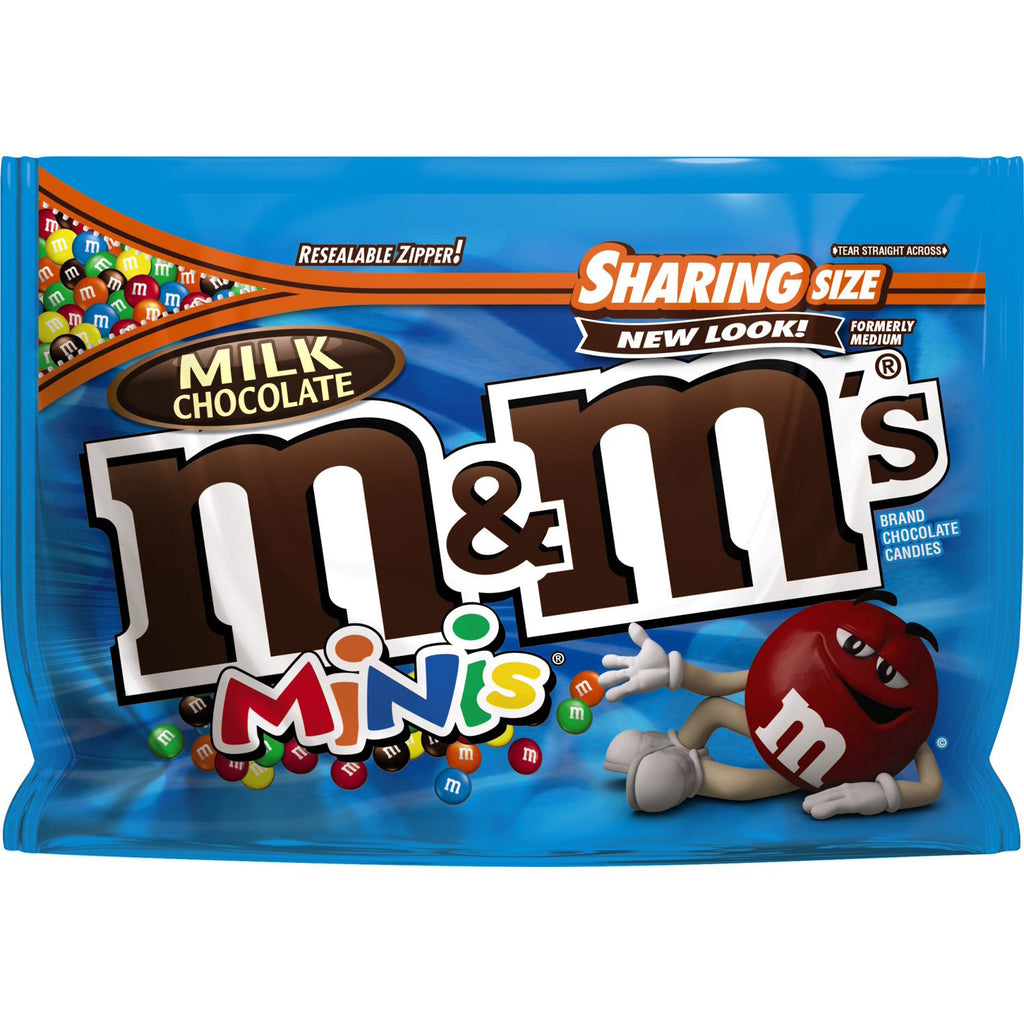 M&M's Minis Milk Chocolate Candies (286g)