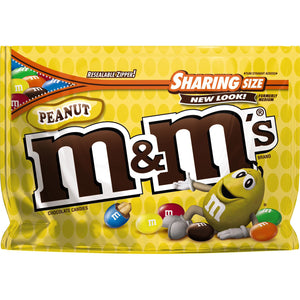 M&M's Classic Peanut Chocolate Candies (323g)