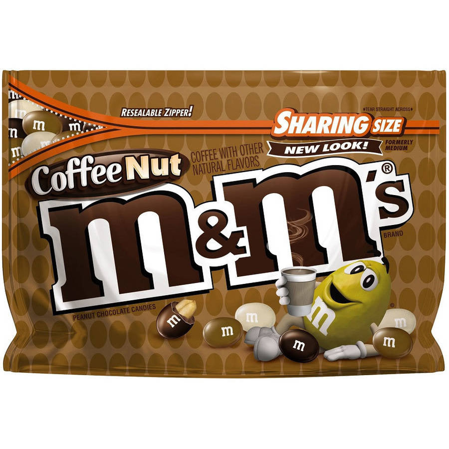 M&M's Coffee Nut Chocolate Candies (273g)