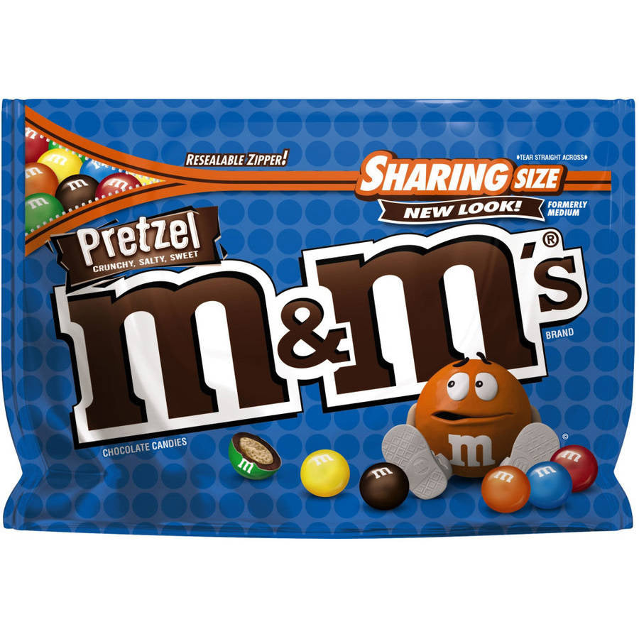 M&M's Pretzel Chocolate Candies (228g)