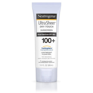 Neutrogena Ultra Sheer Dry-Touch Sunscreen Lotion Broad Spectrum SPF 100+ (89ml)