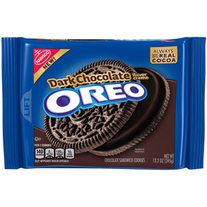 Oreo Dark Chocolate Cookies (345g)
