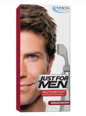 Just for Men Autostop Hair Color Application - Medium Brown A35