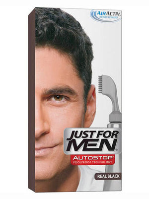 Just for Men Autostop Hair Color Application - Real Black A55